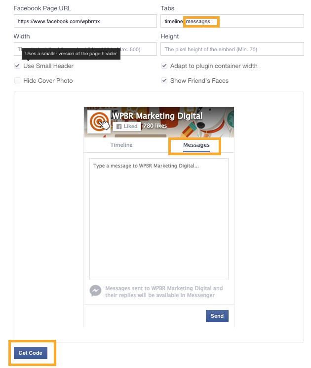 Mensajes-facebook-página